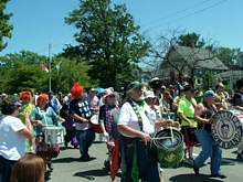 The Scottville Clown Band and July 4th Parade