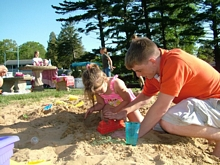Sand Castles at the Resort